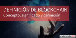 Blockchain definicion