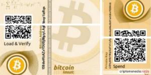 Crear monedero Bitcoin en papel