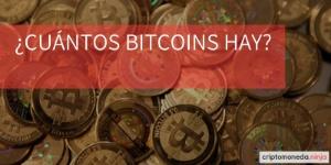 Cuántos bitcoins hay