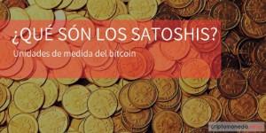 Qué son los satoshis