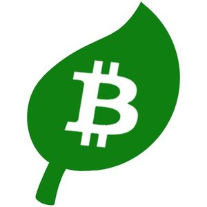 Logo Bitcoin Green