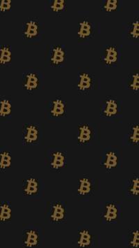 Fondo de pantalla oscuro de bitcoin