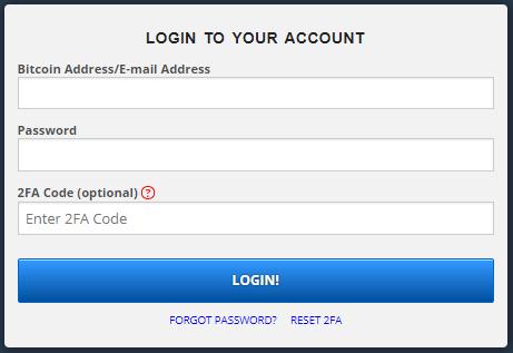 Войдите в FreeBitcoin