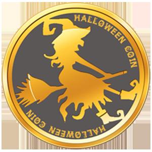 Logo Halloween Coin