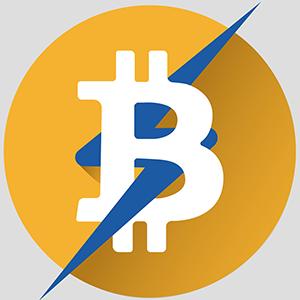 Logo Lightning Bitcoin