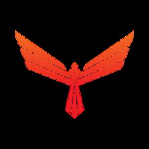 Logo Red Pulse Phoenix Binance