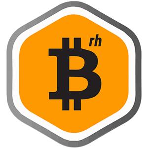 Logo Bitcoin Rhodium